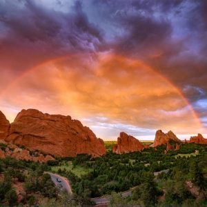 Garden of the Gods Rainbow