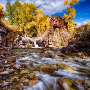 Crystal Mill Fall Foliage