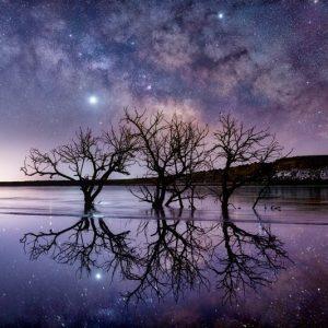 Pueblo Reservoir Milky Way