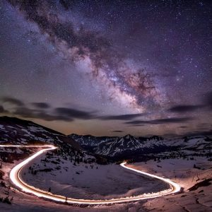 Cottonwood Pass Milky Way