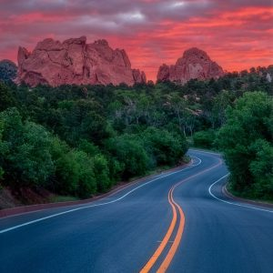 Garden of the Gods Sunrise