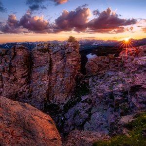Rock Cut Sunset