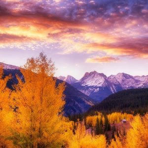 Fall Foliage San Juan Mountains