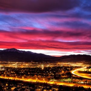 Colorado Springs Sunset