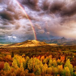 Dallas Divide Rainbow