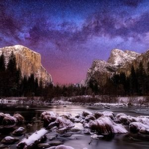 Yosemite National Park Milky Way