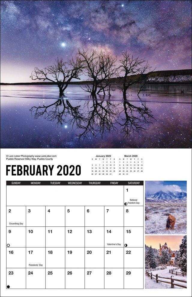 2020 Colorado Calendar February