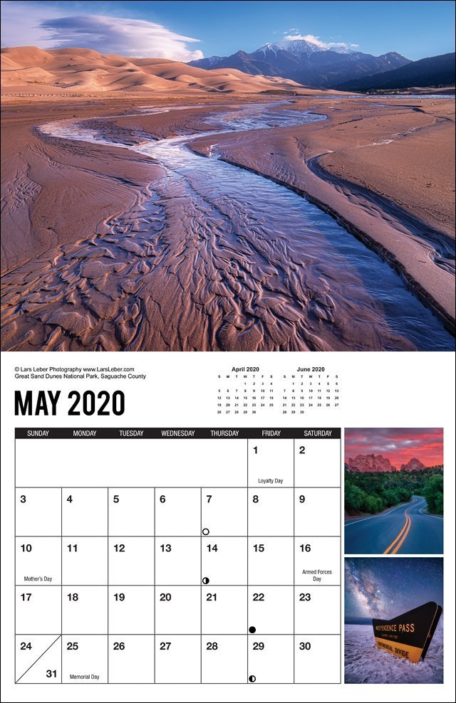 2020 Colorado Calendar May