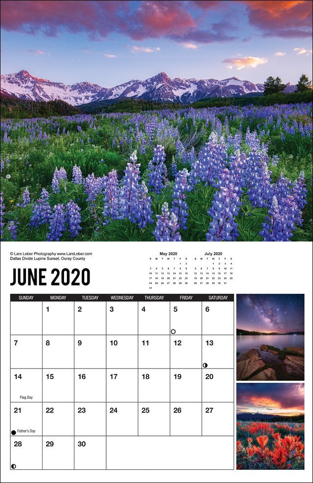 2020 Colorado Calendar June