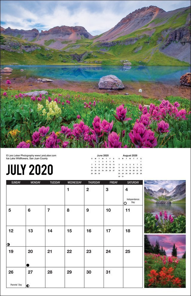 2020 Colorado Calendar July