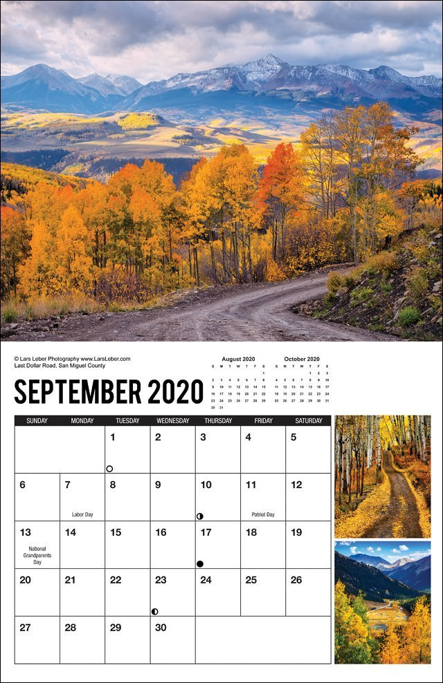 2020 Colorado Calendar September