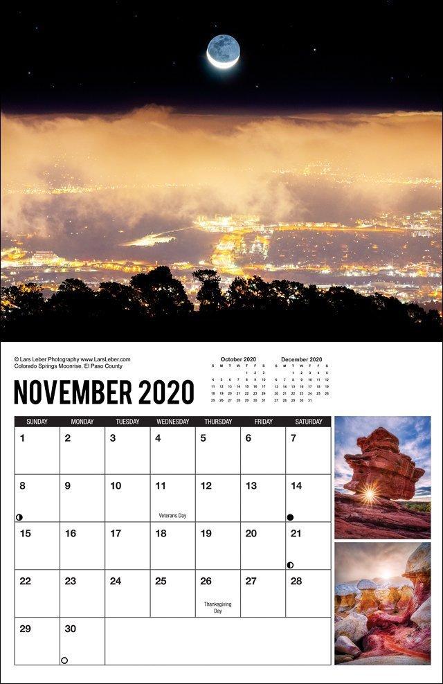 2020 Colorado Calendar November