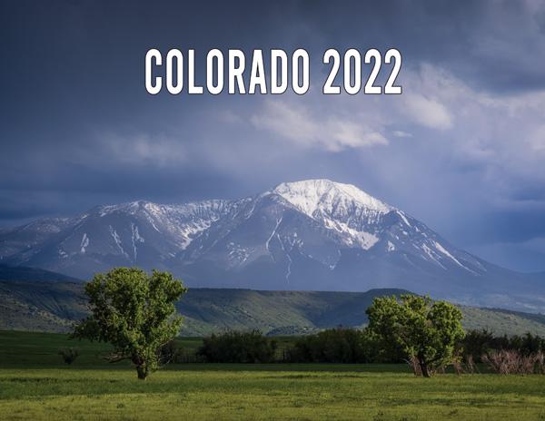 2022 Colorado Calendar Cover