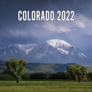 2022 Colorado Calendar