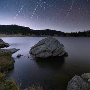 Eleven Mile Reservoir Meteor Shower