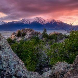Mount Princeton Sunset