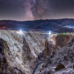Royal Gorge Bridge Milky Way