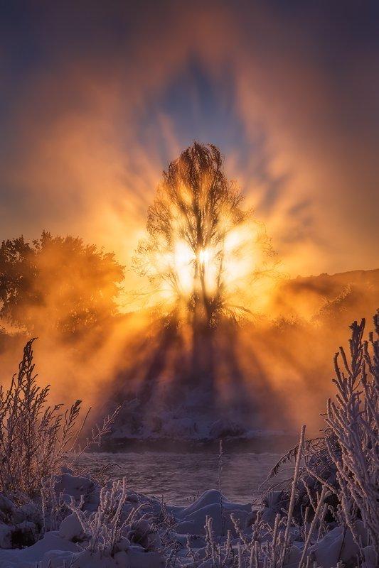 Lake Pueblo State Park Sunrise