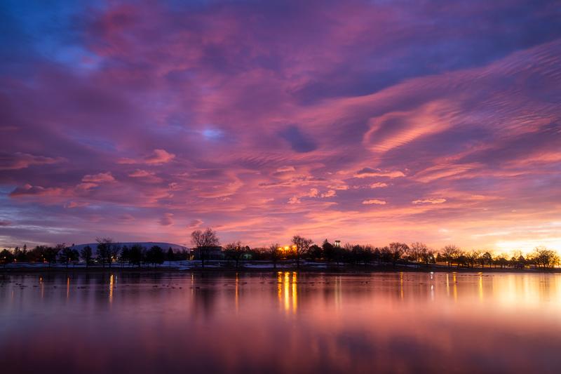 Prospect Lake Sunrise