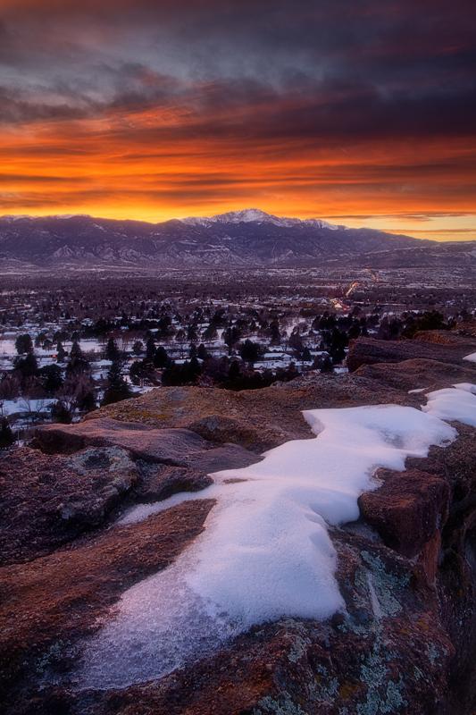 Palmer Park Sunset