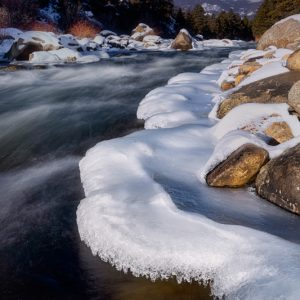 Arkansas River Winter
