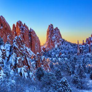 Garden of the Gods Winter