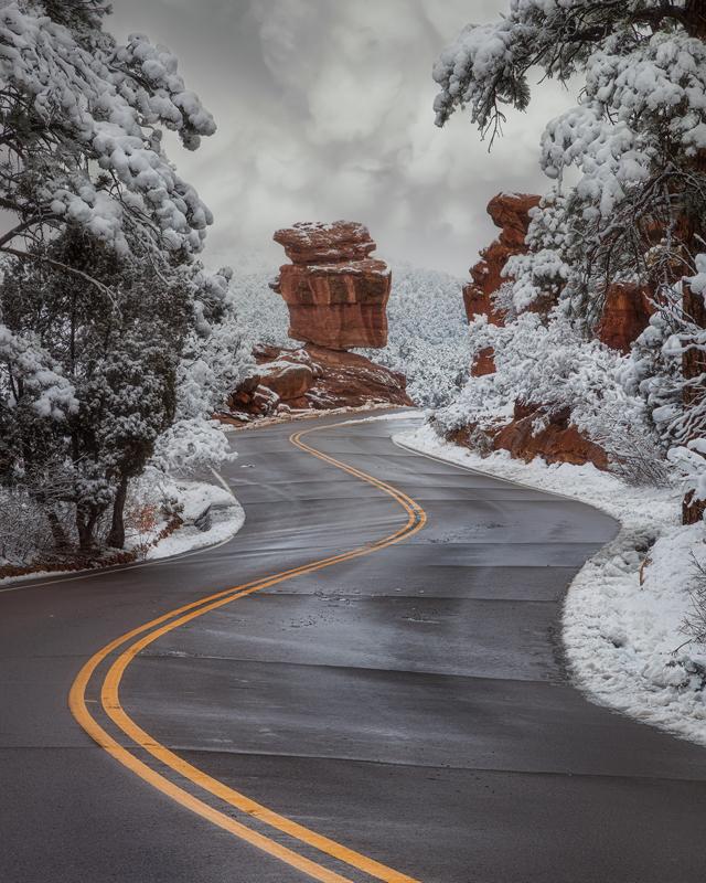 Balanced Rock Winter