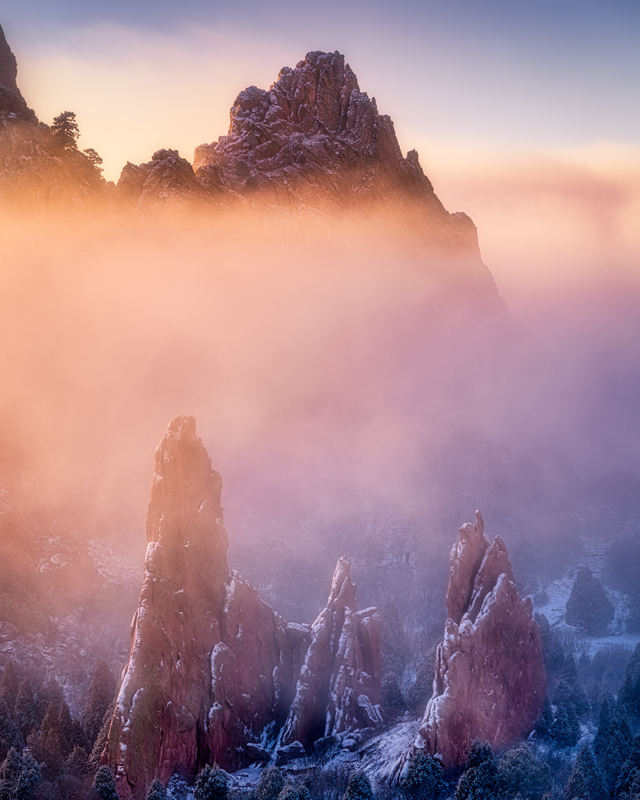 Garden of the Gods Fog
