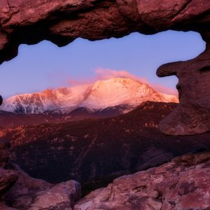 Pikes Peak Window View