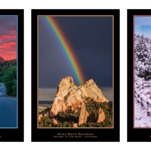 Garden of the Gods Poster Series