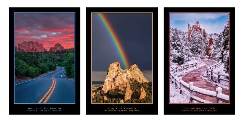 Garden of the Gods Poster Series
