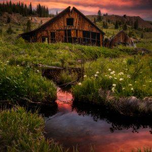 Leadville Mining Sunset