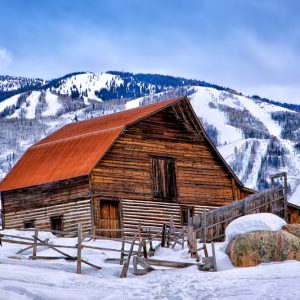 Steamboat Springs Winter Barn