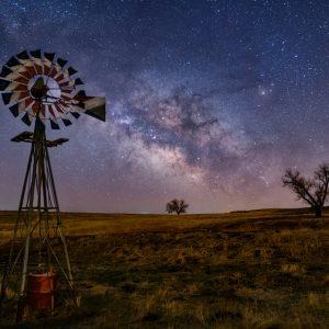 Rural Milky Way