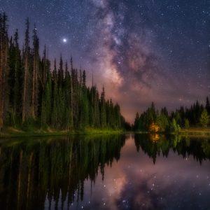 Rocky Mountain National Park Milky Way
