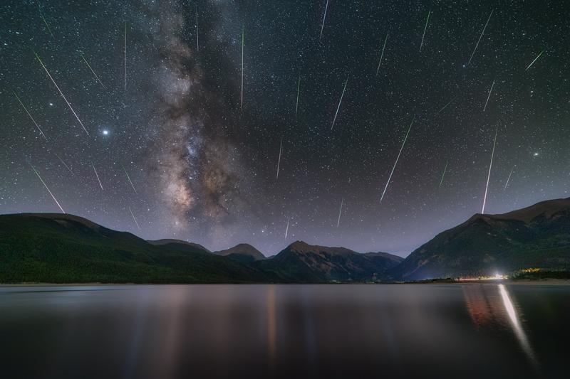 Twin Lakes Perseid Meteor Shower