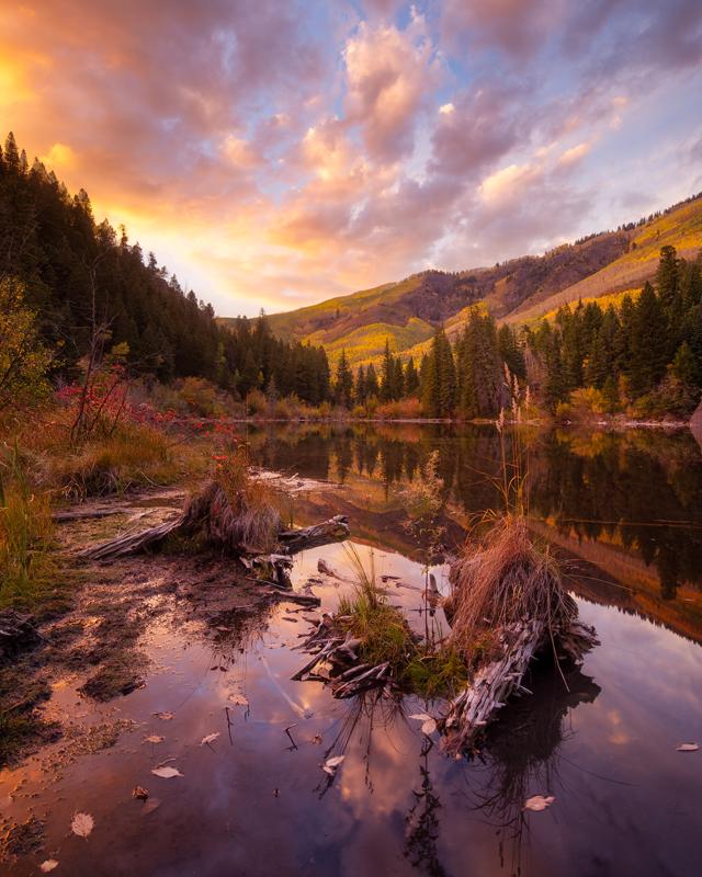 Lizard Lake Sunset