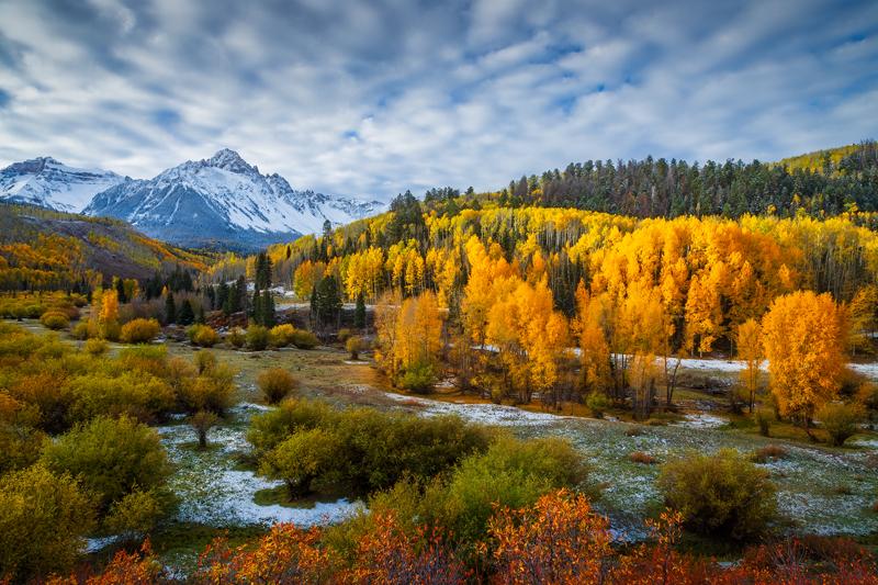 Mount Sneffels Fall Foliage