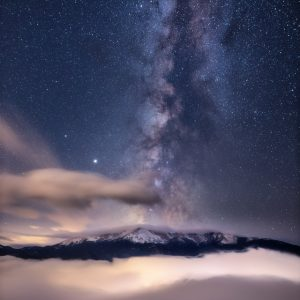 Pikes Peak Milky Way