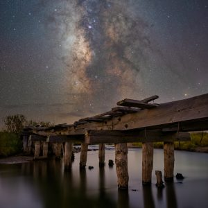 Fishing Bridge Milky Way