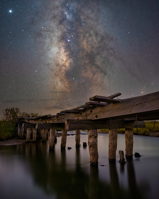 Fishing Bridge Milky Way
