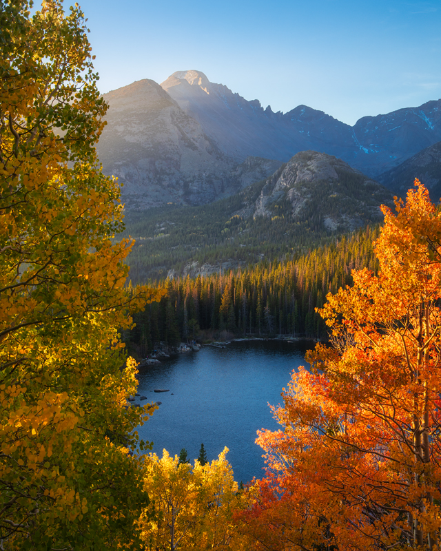 Bear Lake Fall Foliage