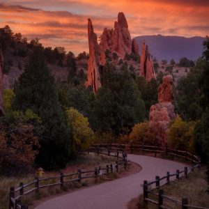 Garden of the Gods Sunrise