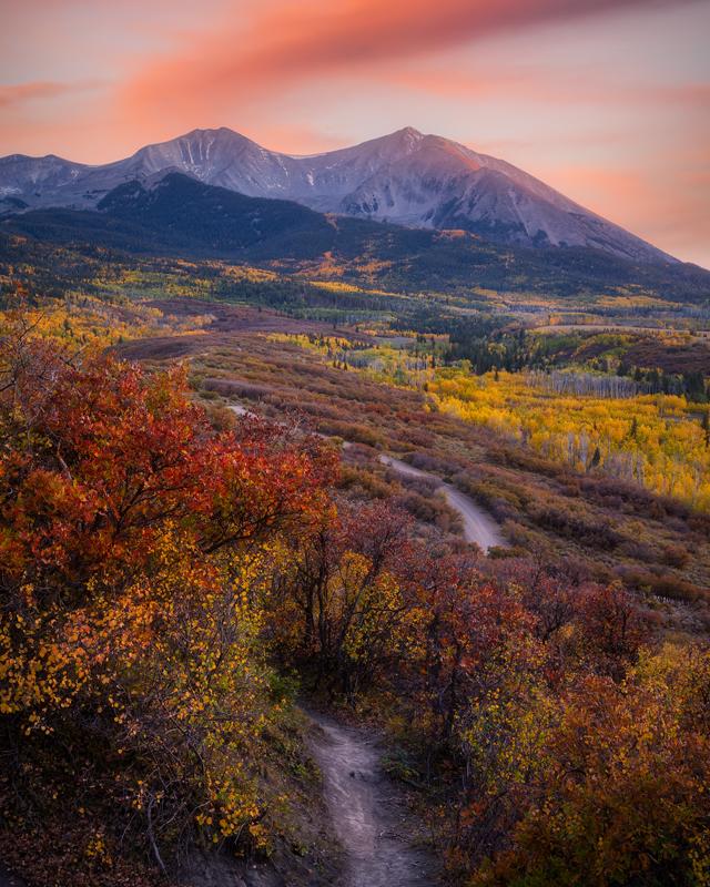 Mount Sopris Sunset