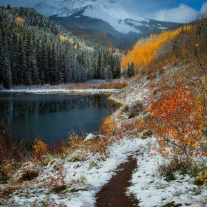 Woods Lake Fall Foliage
