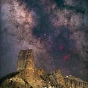 Chimney Rock Milky Way