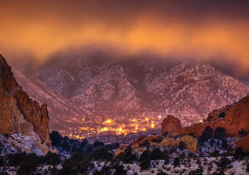 Manitou Springs and Garden of the Gods