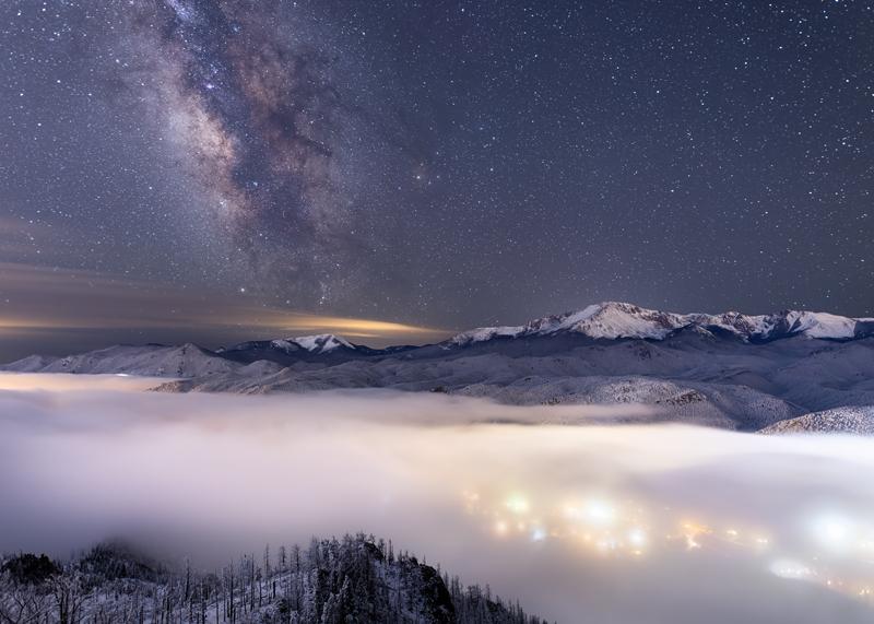 Pikes Peak Milky Way
