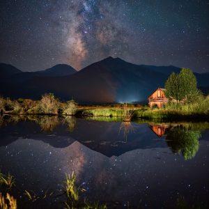 Twin Lakes Milky Way